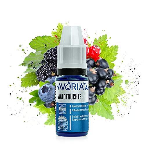 AVORIA – Liquid Aroma Konzentrat 12 ml zum mischen für E Liquid mit neutraler Base | Aromen ohne Nikotin zum selber mischen für E-Zigaretten - Waldfrüchte