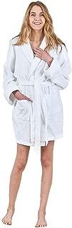 Women's Terry Towelling Bathrobes, 100% Cotton Luxury Dressing Gown Kimono Loungewear