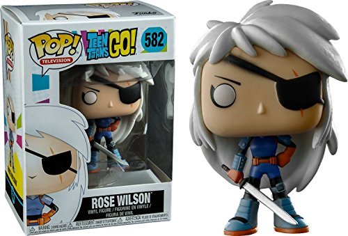 Funko Pop! - Teen Titans Go!: Rose Wilson, Multicolor (20394)