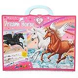 Depesche 10898 Malbuch Miss Melody, Create your Dream Horse, ca. 30,5 x 33 x 1,5 cm