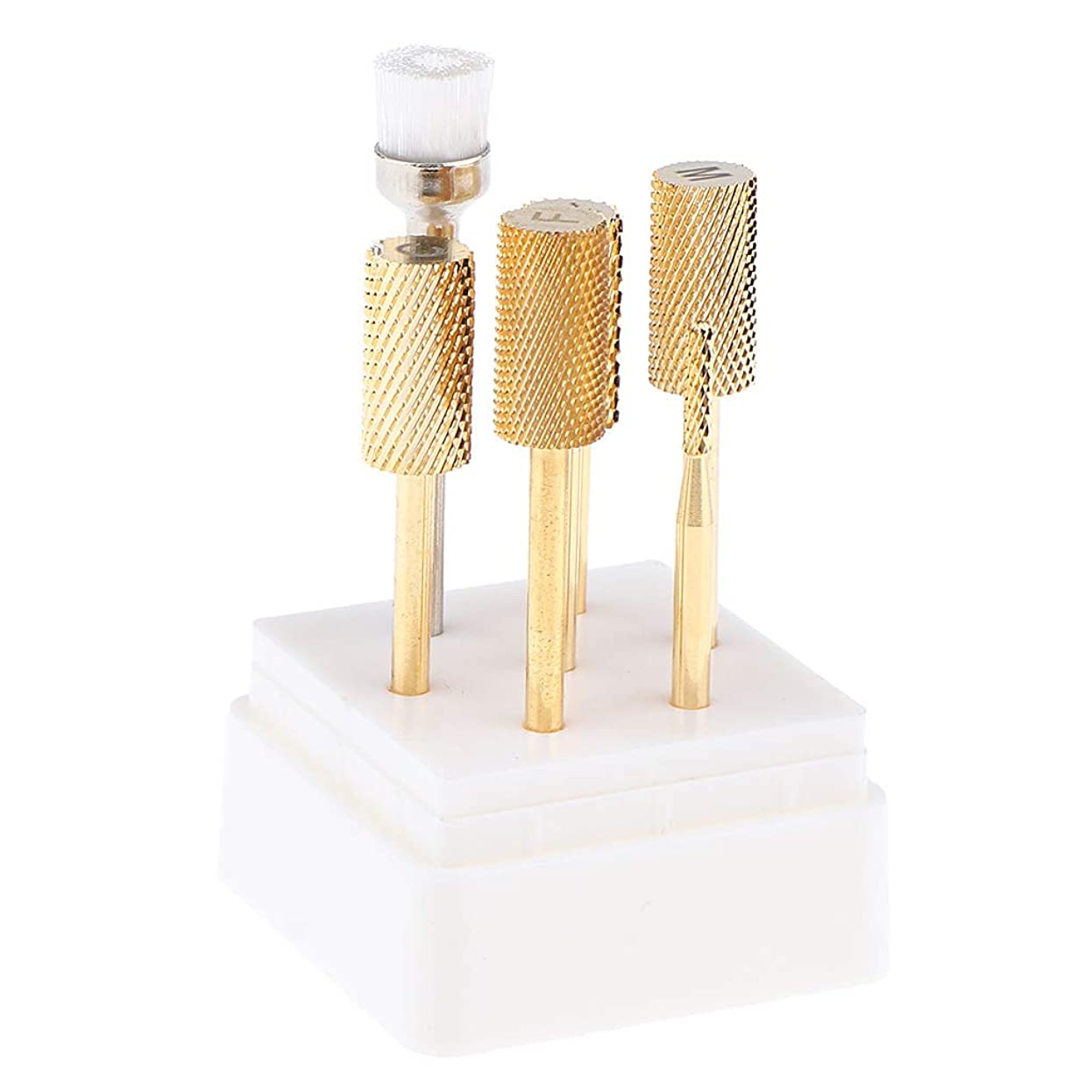 節約賞賛する純粋なB Blesiya 7点 ネイルドリルビット 電動ネイルマシン 耐久性 ネイル道具 ネイルサロン