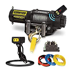 champion 4500 lb atv winch review