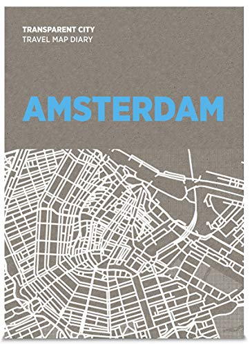 Palomar-Amsterdam Transparant City Travel Map Diary