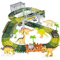 168-Piece Batlofty Dinosaur Toys Race Car