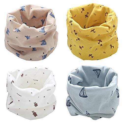 Bufanda Bebé Niños Pañuelo Cuello Bufanda de Algodón Inf