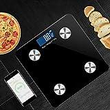 Sisliya Body Fat Scale Smart BMI Scale Digital Bathroom Wireless Weight Scale, Body