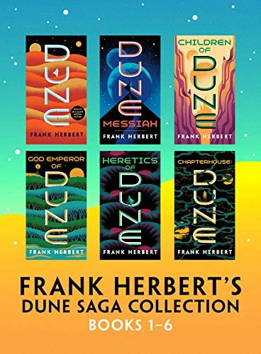 Frank Herbert s Dune Saga Collection Books 1 6 product image