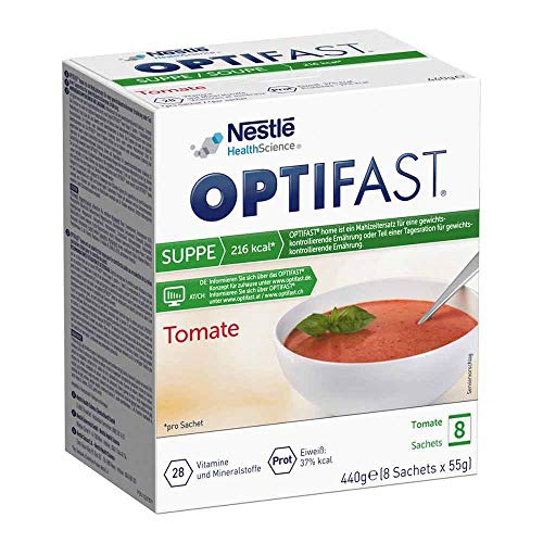 OPTIFAST home Suppe Tomate Pulver in Sachets, 8 St. Beutel