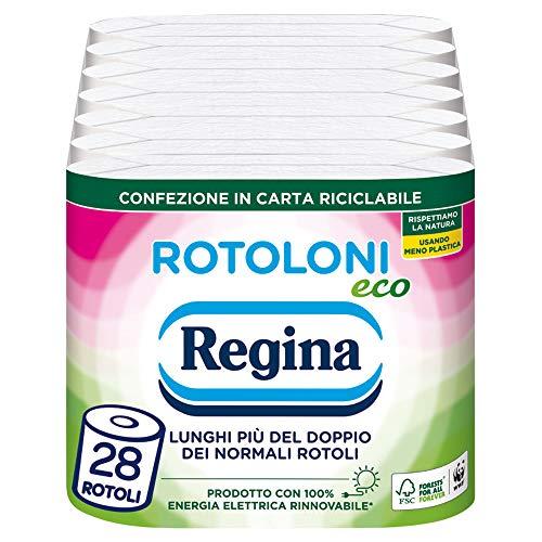 Regina Rotoloni Eco Carta Igienica, 28 Maxi Rotoli