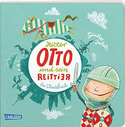 Ritter Otto und sein Reittier: Ein wortspielerisches Pappbilderbuch in Reimen für Kinder ab 3 Jahren, das sich von vorne und von hinten lesen und anschauen lässt (Die Großen Kleinen)