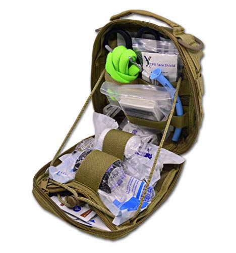 Lightning X Products Premium Nylon MOLLE Pouch Emergency Kit