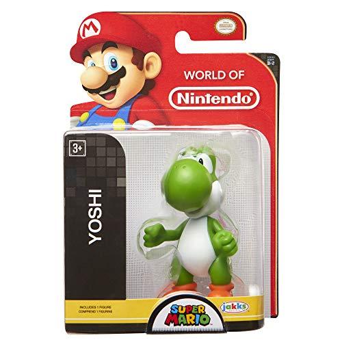"""World of Nintendo Super Mario 2.5"""" Yoshi Mini Figure"""