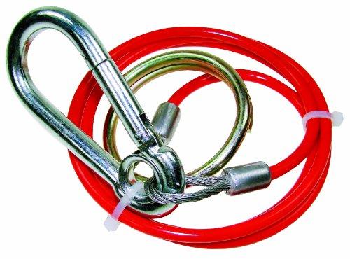 Maypole MP501 Abreißseil, PVC, 1 m x 3 mm, Rot