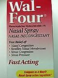 Walgreens Wal-Four Nasal Decongestant Spray, 1 oz