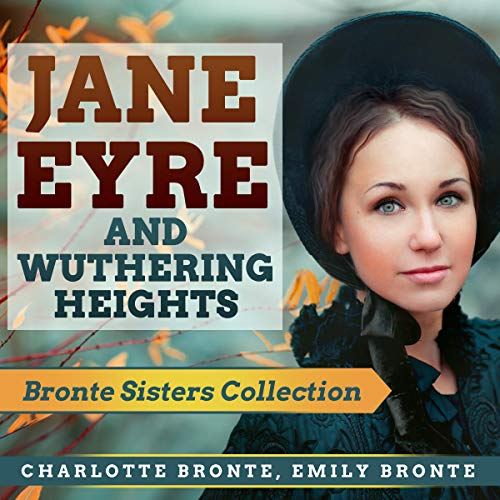 Jane Eyre and Wuthering Heights cover art