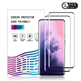 Oneplus 7 Pro/OnePlus 7T Pro Screen Protector by YEYEBF, [2 Pack]...