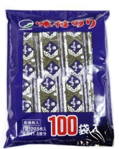 松谷海苔 味付のり 袋100袋