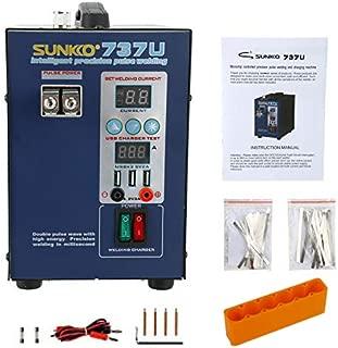 SUNKKO 737U Precision Pulse Battery 2800W Testing Charge Spot Welder 110V