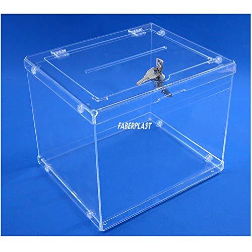 Faberplast Easy Sorteos Votación - Urna metacrilato