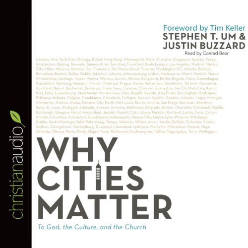 Why Cities Matter audiobook cover art