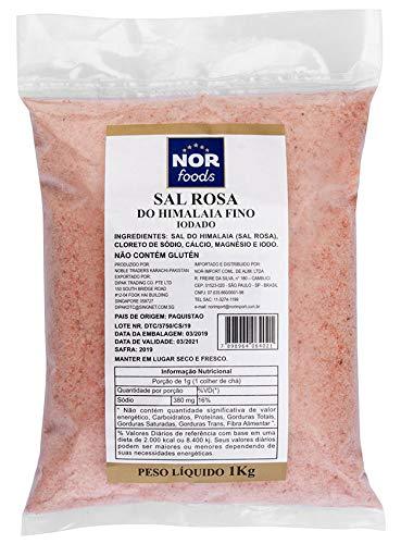 Sal Rosa do Himalaia (Refinado) Nor Foods 1kg