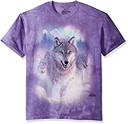 The Mountain Adult Unisex T-Shirt - Northern Lights