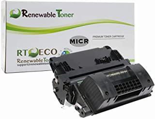Renewable Toner Compatible High Yield MICR Toner Cartridge Replacement for HP 90X CE390X Enterprise M4555 M602 M603