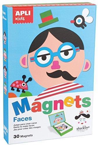 APLI Kids - Juego magnético para formar caras