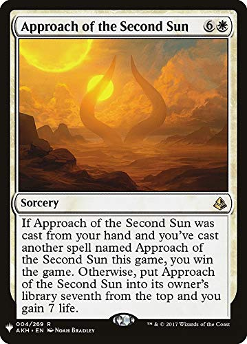 Magic: The Gathering - Approach of The Second Sun - Mystery Booster - Amonkhet