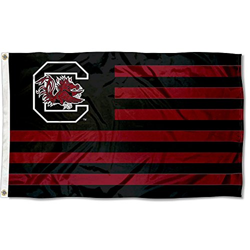 College Flags & Banners Co. South Carolina Gamecocks Stars and Stripes Nation Flag