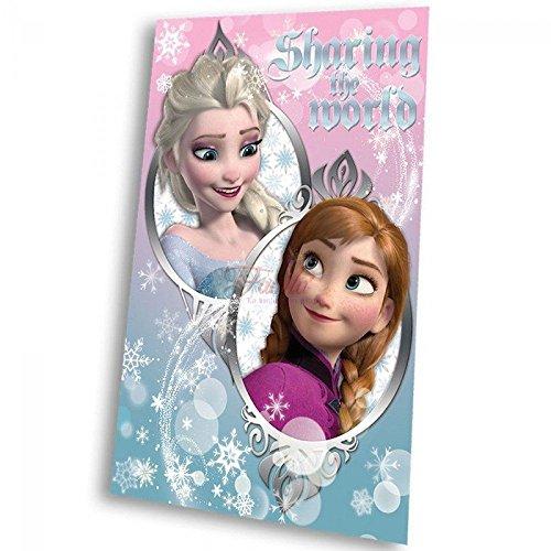Disney Plaid Frozen Elsa Plaid in PILE Coperta Bambina 150x 100