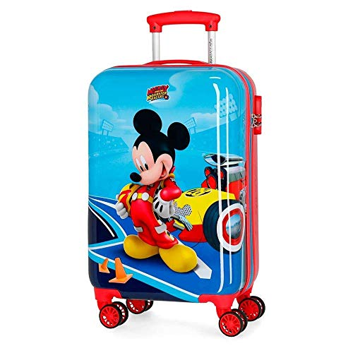 Trolley Topolino Mickey Mouse Disney Let's Roll da Viaggio CM. 55X34X20 in ABS - 4561461