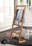 Spa Handtuchhalter Badezimmer Herrenständer Wohnraum Teakholz Handtuchstange Designermöbel