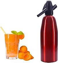 Soda Maker, Seltzer Bouteille mousseux maison eau gazéifiée Boissons Machine, 1 litre, Faire gazéifiée Soda Sparking l'eau...