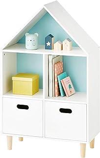 ROGF Jardin d'enfants Toy Cabinet Enfants Armoire de Rangement for Enfants Toy Organisateur de Stockage étagère pour Coulo...