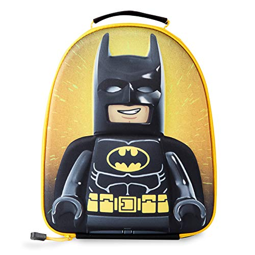 LEGO Batman Lunch Bag for Kids, 3D Small Insulated Boys Lunch Box