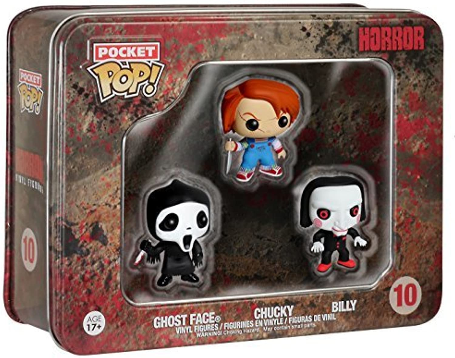Horror  Ghost Face, Chucky, Billy by FunKo