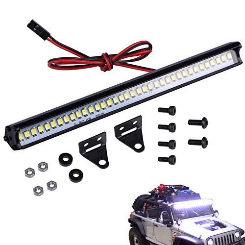 RC Light Bar Roof LED Lamp Kit for Traxxas Axial SCX10 Arrma Tamiya HPI Losi HSP Wraith D90 Gen8 RC Crawler Truck