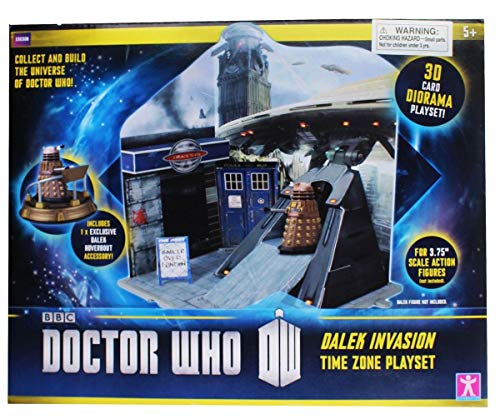 Doctor Who Dr Who Time Zone Playset DALEK INVASION inc EXCLUSIVE Dalek Hoverbout