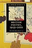 The Cambridge Companion to British Poetry, 1945–2010 (Cambridge Companions to Literature)