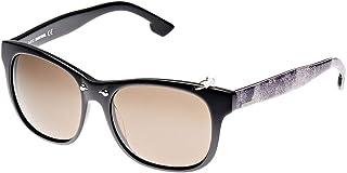 نظارة شمسية واي فيرير للجنسين من ديزل، باللون البني، طراز DL0048 01A، مقاس 53 16 145 ملم