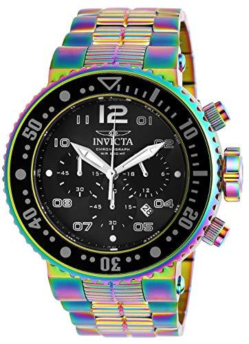 Invicta 25078 Grand Pro Diver 52mm Quartz Stainless Steel Mens Watch