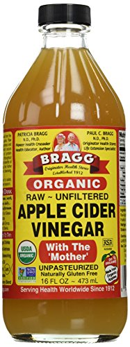 12 Pack of Gluten Free Bragg Bragg Apple Cider Vinegar 473 ML