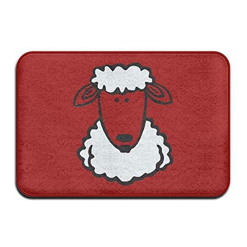 Klotr Tapis De Bain, Sheep Baa Door Mats Outdoor Mats