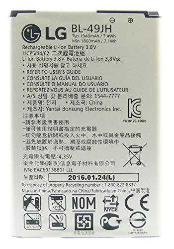Original Akku für LG ELECTRONIC BL-49JH mit Li-Ion/ 3.7V/ 1.940 mAh