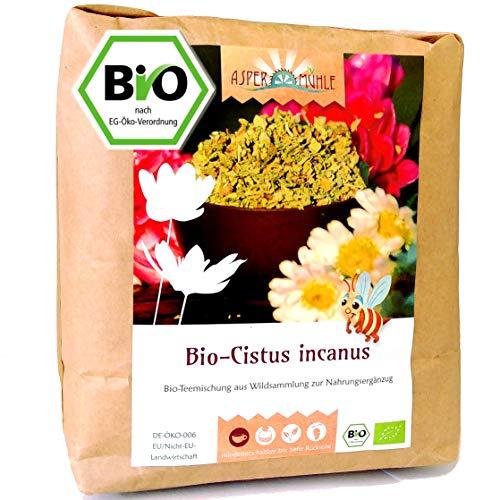 Cistus Tee - Cistus incanus Tee - Bio Zistrosenkraut geschnitten (500g)