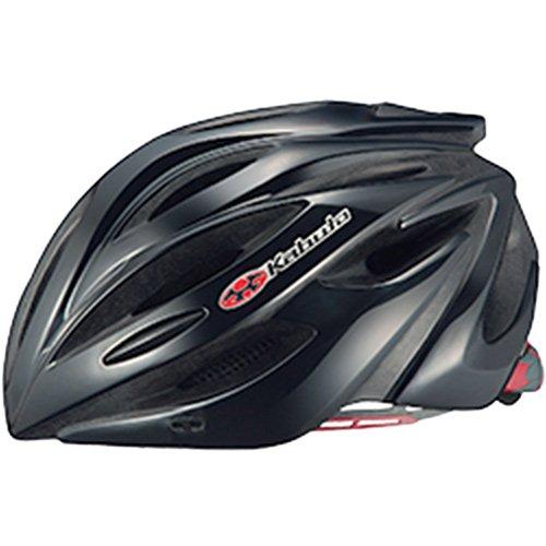 オージーケーカブト(OGK KABUTO) 自転車 ヘルメット ALFE ブラック サイズ:M/L
