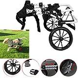 4U-Onlinehandel Rollstuhl Hund Hunderollstuhl Gehhilfe Hundegehilfe Rollwagen Hunderollwagen