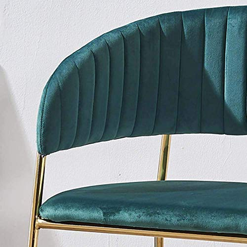 Nordic Makeup Stuhl Einfache Schreibtisch Stuhlklessstuhl Esszimmerstuhl Home Restaurant Stuhlhocker, B MISU (Color : D)