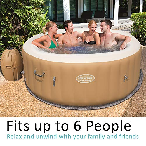 Bestway Lay-Z-Spa Palm Springs Whirlpool, 196 x 71 cm - 3